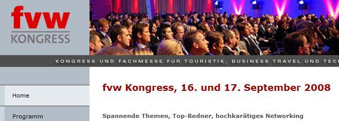 FVW-Kongress und Travelexpo besucht von Tourismuszukunft