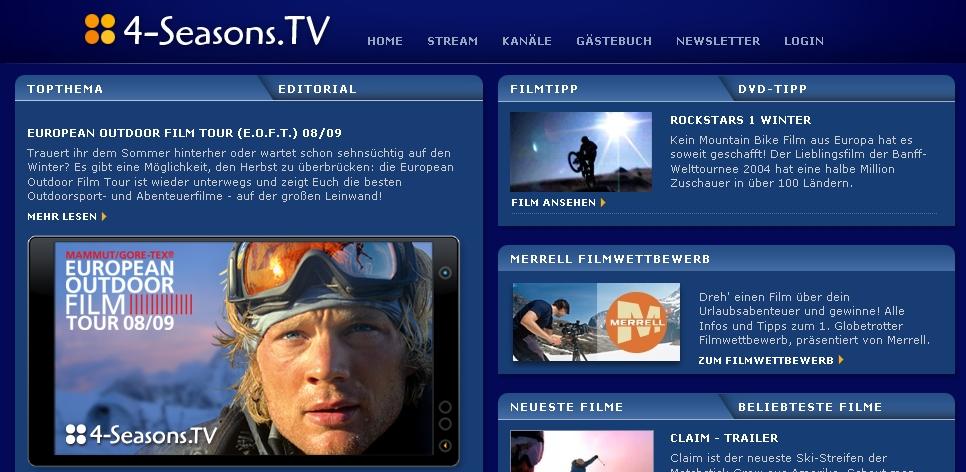 4-Seasons TV Screenshot