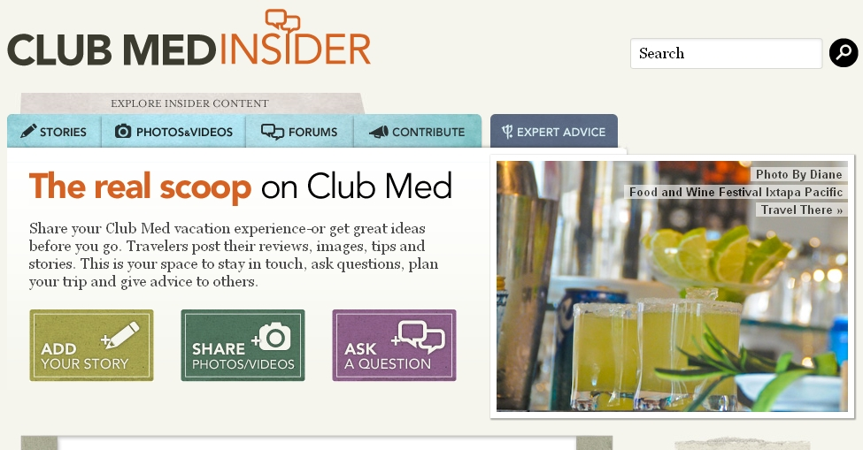 Club Med Insider Screenshot