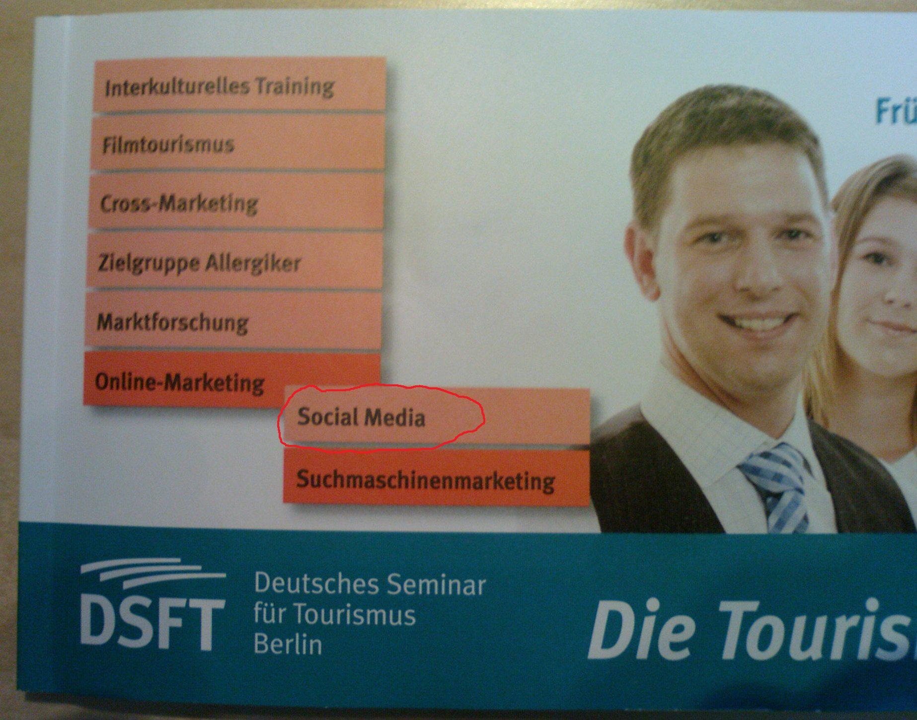 Titelseite des neuen DSFT Programmheftes