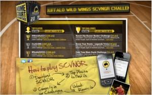 SCVNGR - Kampagne von Buffalo Wild Wings