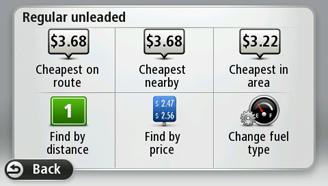 Mobiler Preisvergleich Tankstelle TomTom Fuel Prices