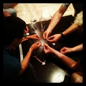 Die Impulse4Travel Marshmallow Challenge