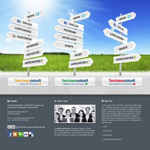 Desgin Webseite