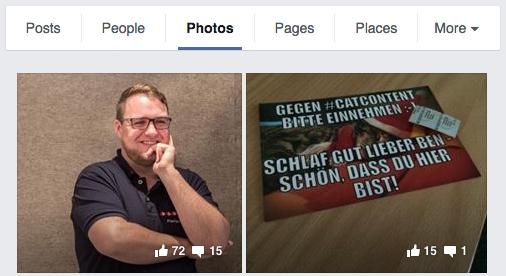 Facebook Suche Touismuszukunft