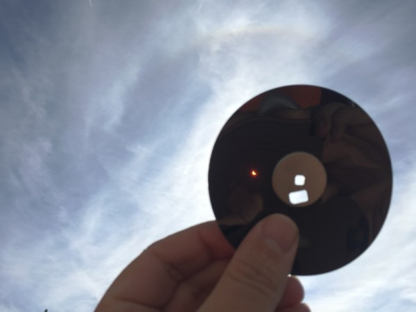 Diskette Sonnenfinsternis