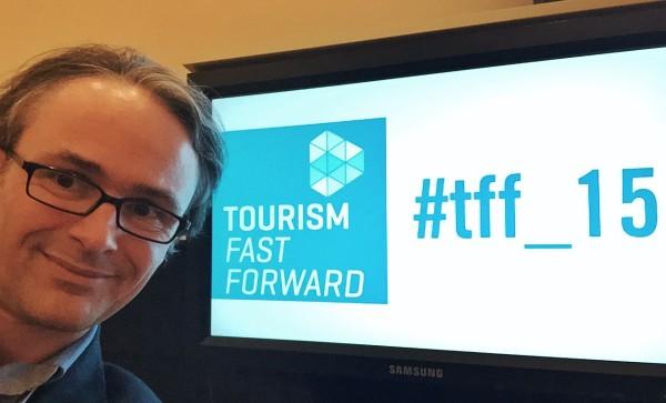 Günter Exel auf der TourismFastForward