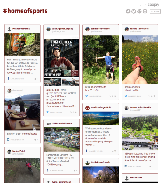 #homeofsports - Salzburger Hof Leogang