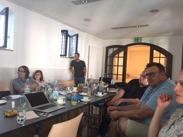 Das Tourismuszukunft Team beim Innovationsmeeting im Münster Carré in Bonn