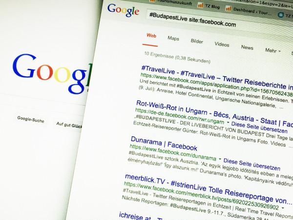 Facebook-Search-Google