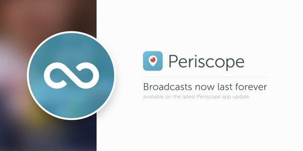 Periscope Livestream-Speicherung