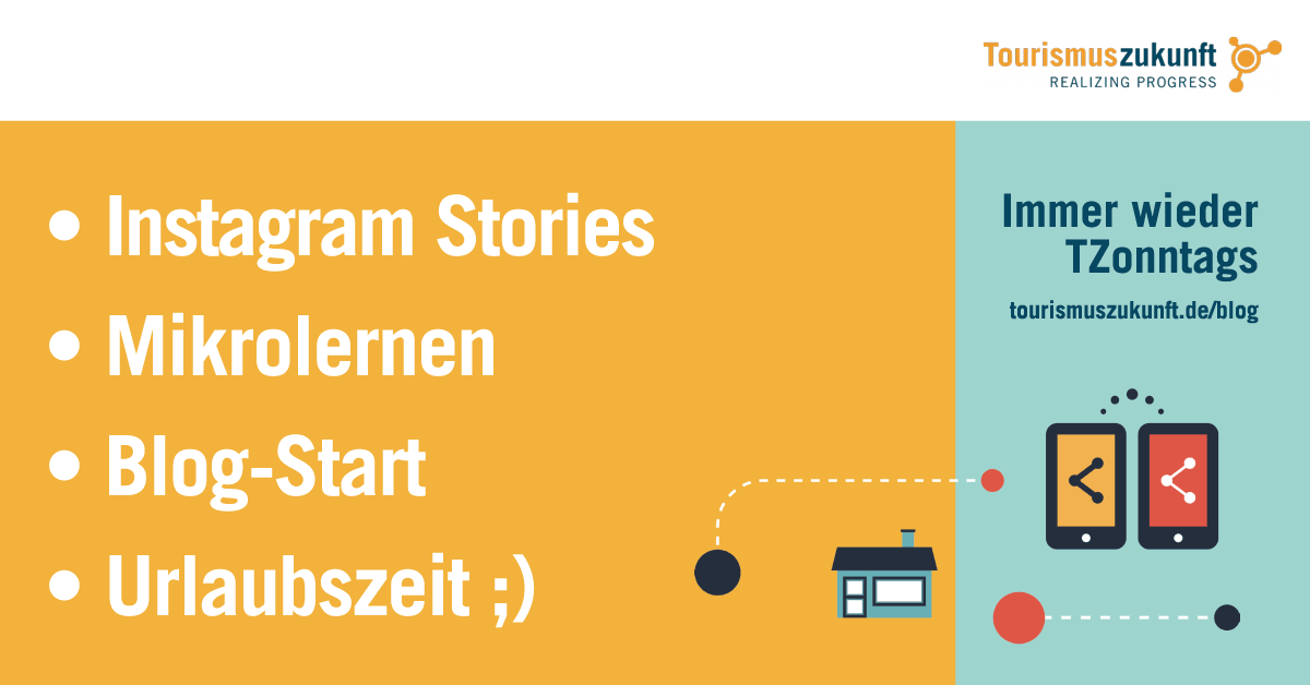 Instagram Stories, Mikrolernen, Blogstart
