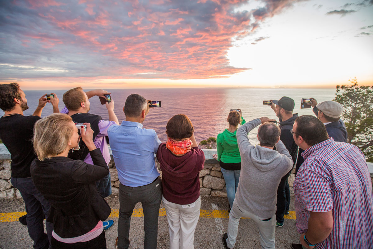 Das Tourismuszukunft-Team beim Ausflug (Foto: Greg Snell)