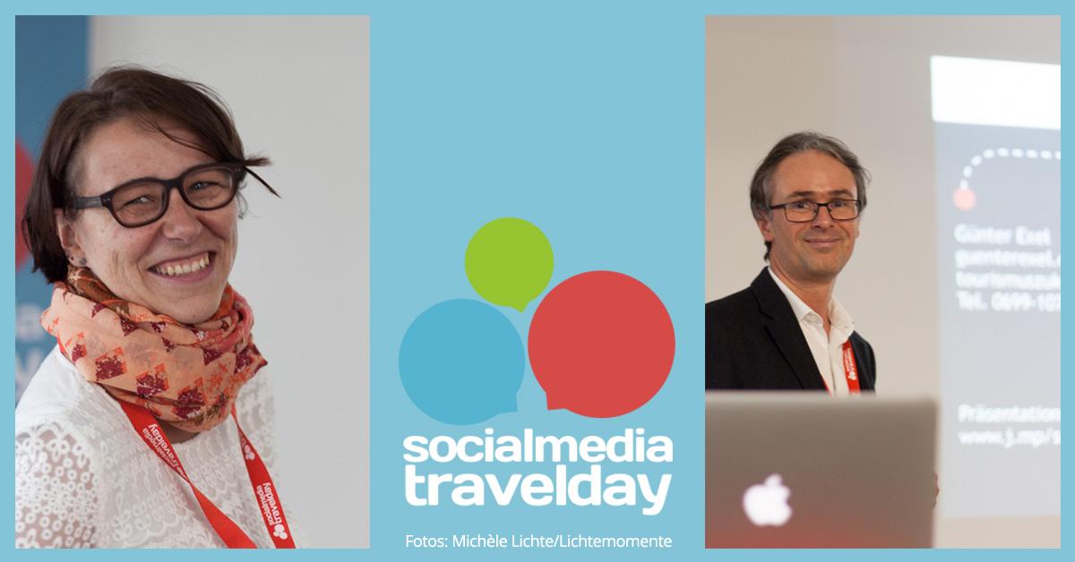 social media travel day 2016: Kristine Honig & Günter Exel, Tourismuszukunft