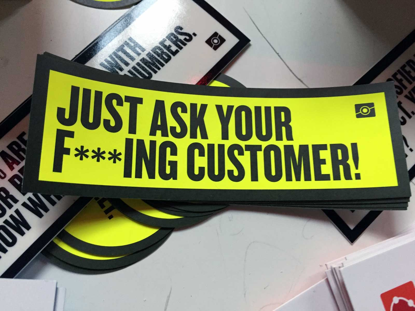 Service Design: Just ask your f***ing customer!
