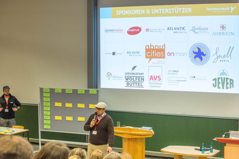Die Sponsoren des 10. Tourismuscamp