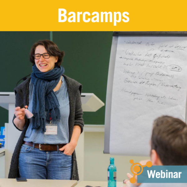 Exklusiv-Webinar Barcamps von Kristine Honig