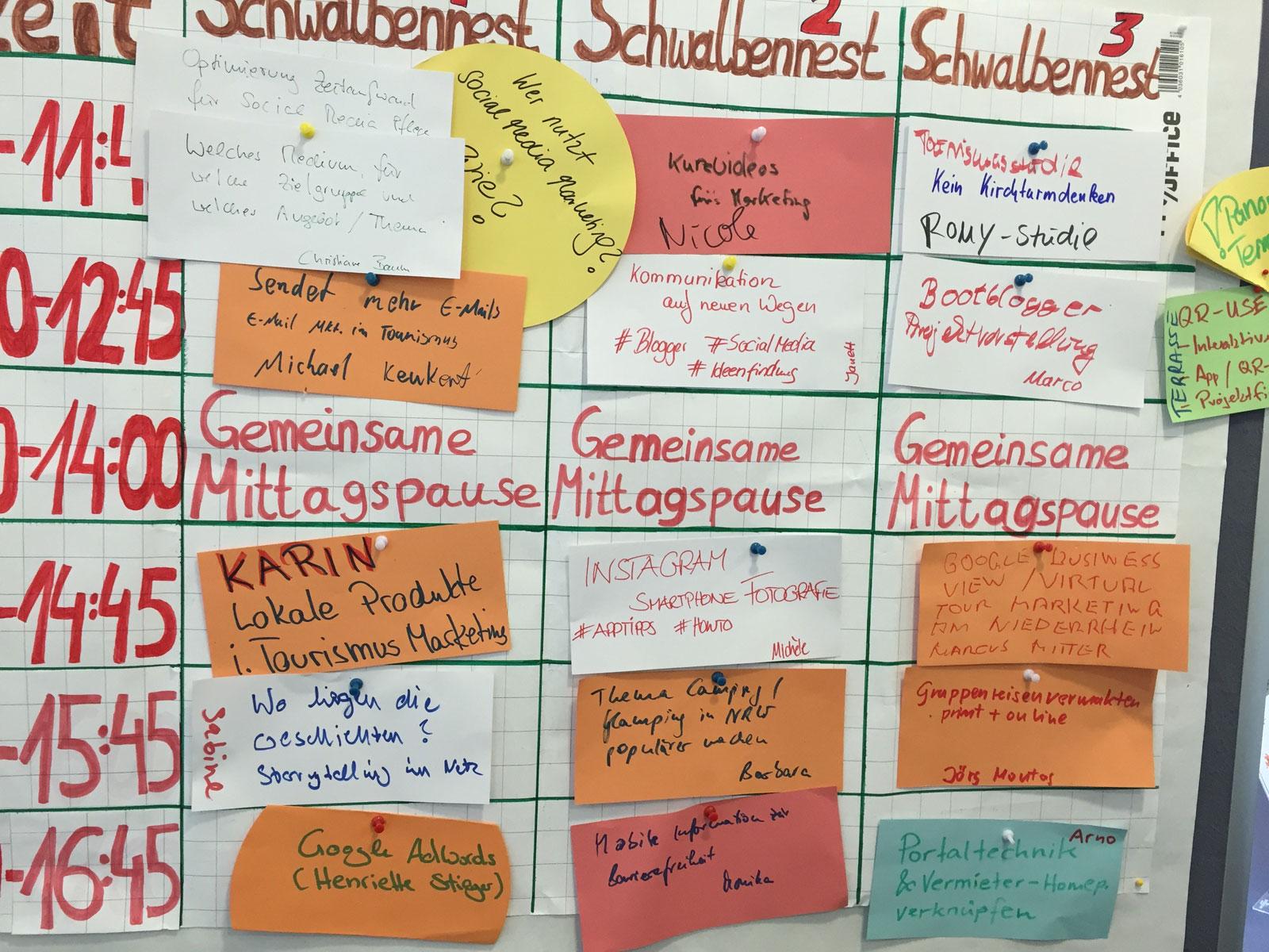 Barcamp Tourismuscamp Niederrhein