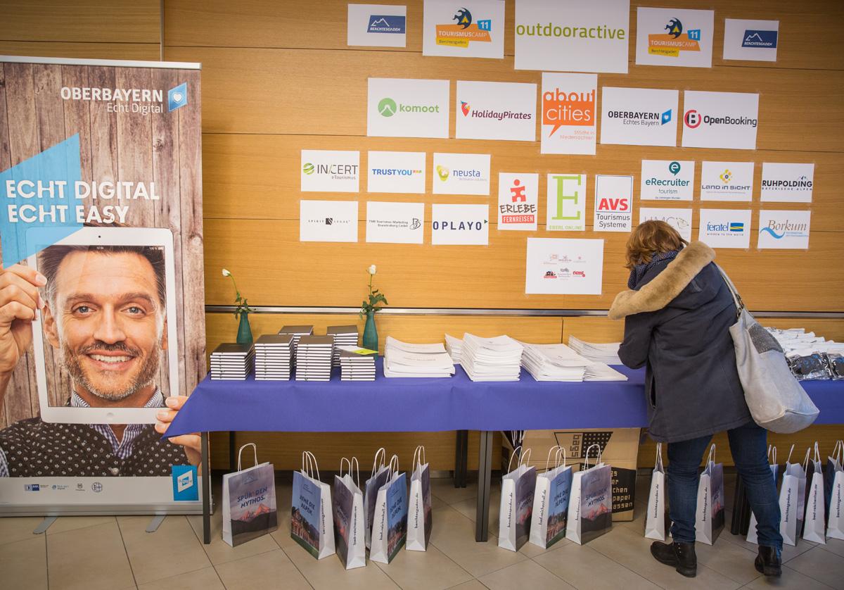 Sponsoren des 11. Tourismuscamps in Berchtesgaden