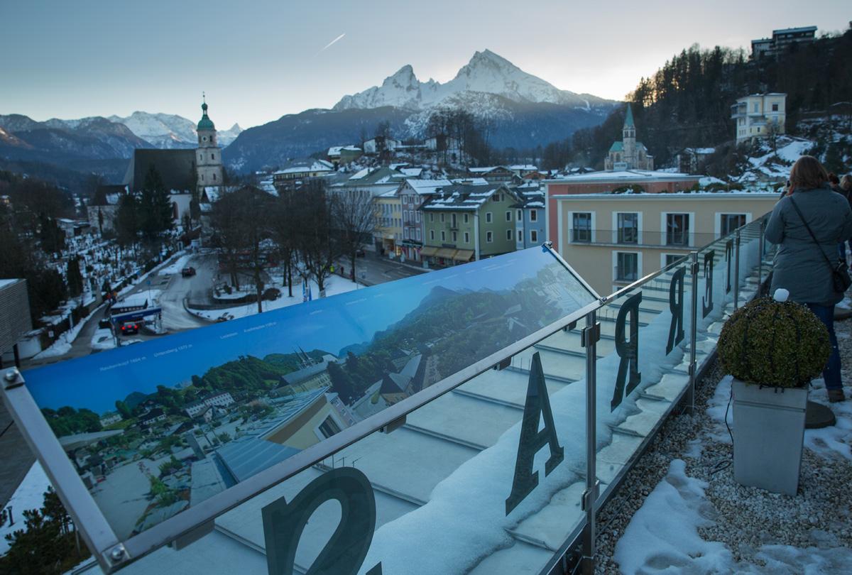 Tourismuscamp in Berchtesgaden: der Watzmann