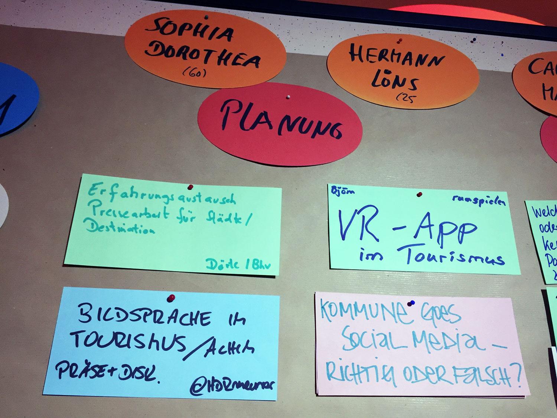 Sessionplan beim 2. Niedersachsencamp in Celle