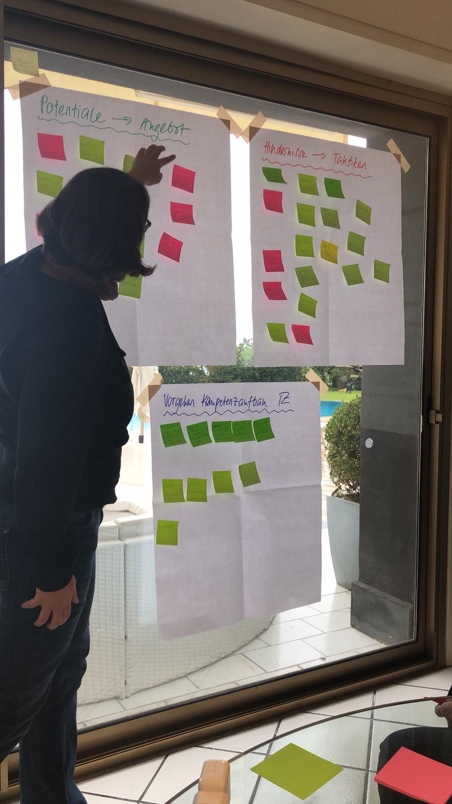 Tourismuszukunft: Session beim internen Barcamp