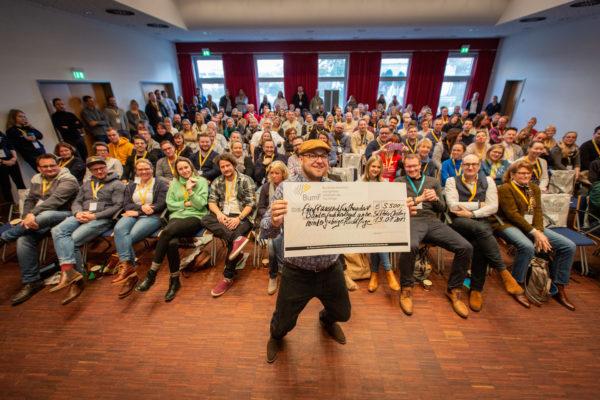 Haltung zeigen biem Tourismuscamp 2019