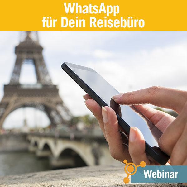 WhatsApp für Dein Reisebüro