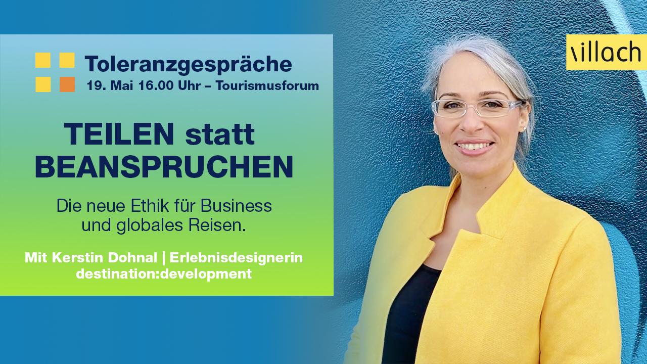 Tourismusforum Villach 2021 Kerstin Dohnal