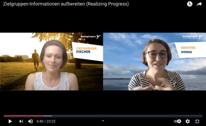 Video: Zielgruppen-Informationen aufbereiten